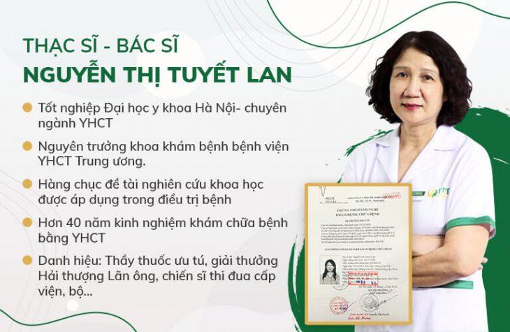 Thông tin bác sĩ Tuyết Lan