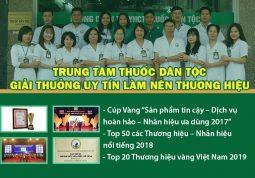 Trung tâm Nghiên cứu và Ứng dụng Thuốc dân tộc đã đạt được nhiều giải thưởng uy tín