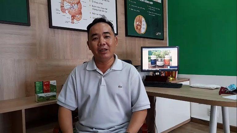 Anh Lê Quốc Hưng chia sẻ sau khi sử dụng bài thuốc Sơ can Bình vị tán