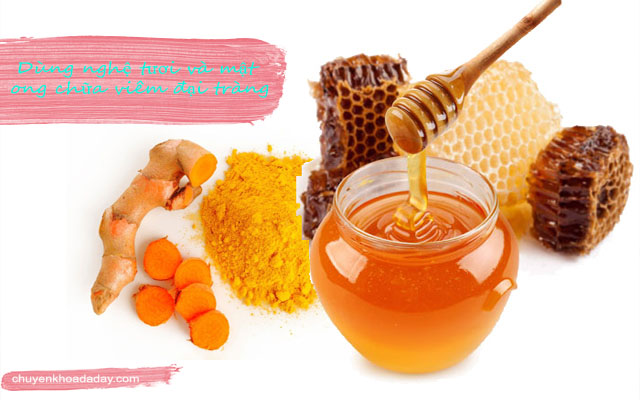 Bài thuốc từ nghệ tươi và mật ong dùng để điều trị viêm đại tràng