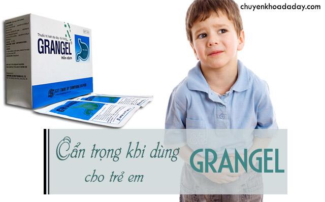 thuốc chữa dạ dày Grangel