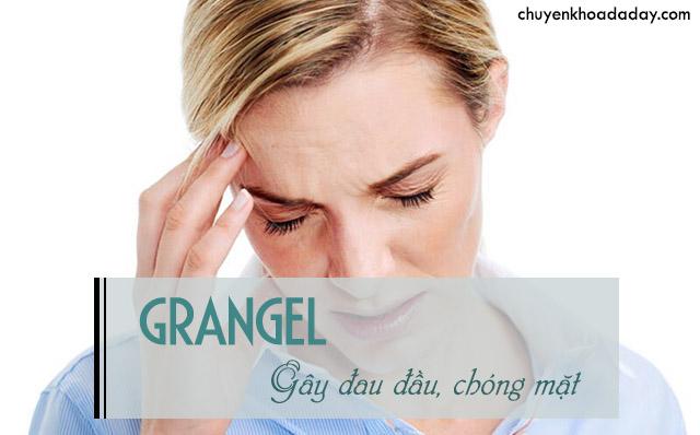 tác dụng phụ của thuốc Grangel