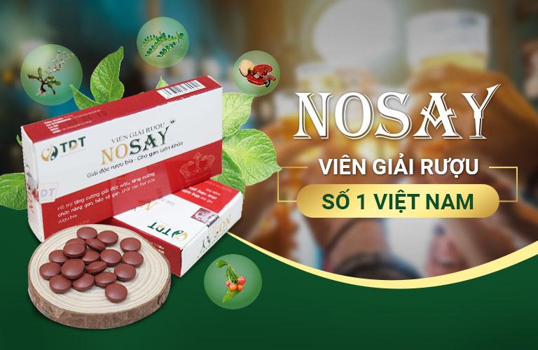 Nosay - Viên giải rượu số 1 Việt Nam