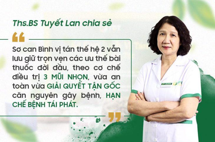 THS.BS Tuyết Lan chia sẻ