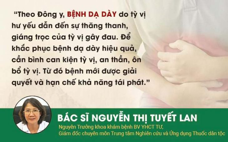 Bác sĩ Tuyết Lan chia sẻ kinh nghiệm chữa bệnh dạ dày theo quan điểm Đông y