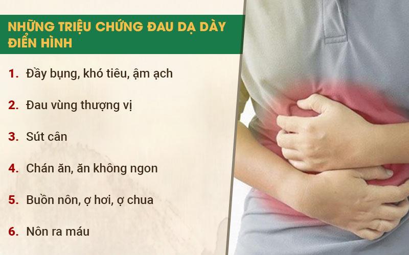 Mỗi người sẽ gặp phải những triệu chứng viêm dạ dày khác nhau