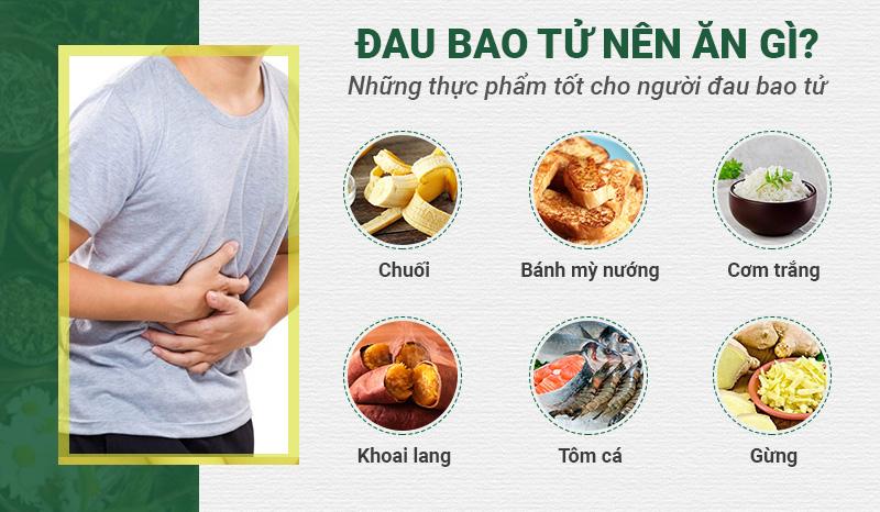 Những thực phẩm tốt cho người đau bao tử