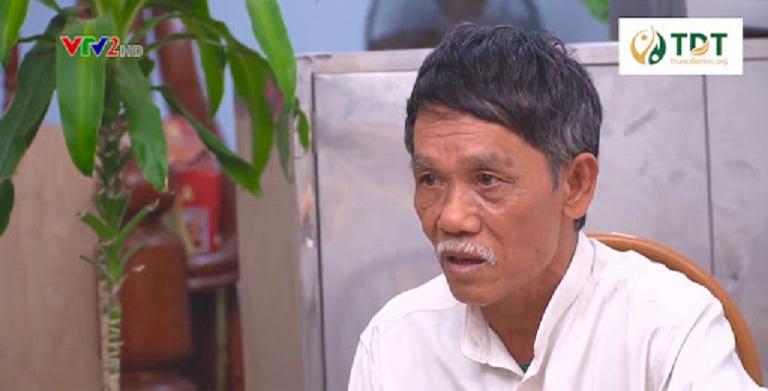 Chú Nguyễn Bá Thành chia sẻ hiệu quả sử dụng bài thuốc Sơ can Bình vị tán
