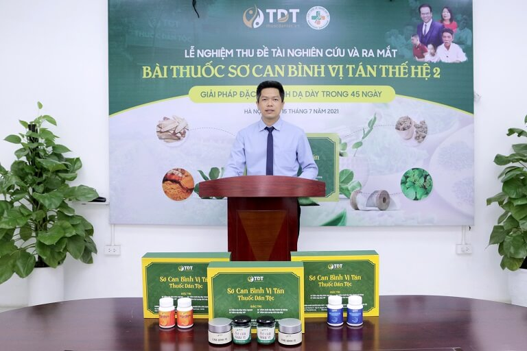 Ông Nguyễn Quang Hưng kỳ vọng cao vào sự phát triển của bài thuốc